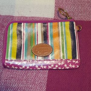 FOSSIL multicolored wallet